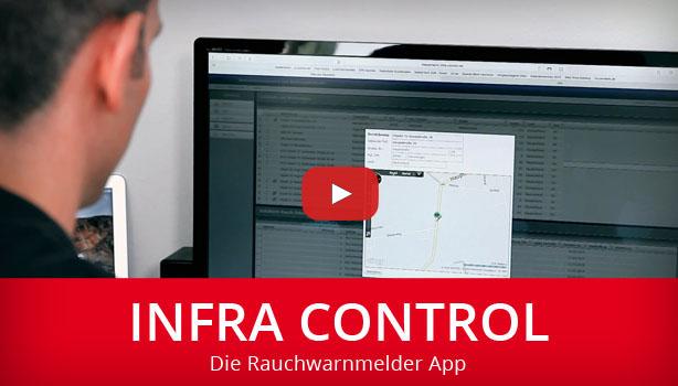 infra control: Die Rauchwarnmelder App