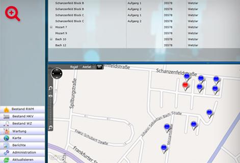 infra control Rauchwarnmelder-App