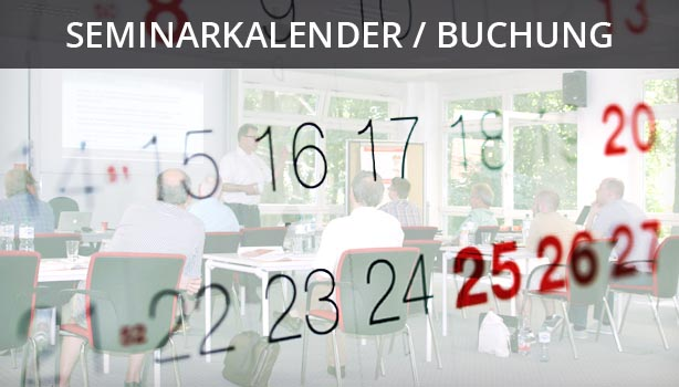 Seminarkalender und Buchung