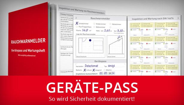 Geräte-Pass: So wird Sicherheit dokumentiert