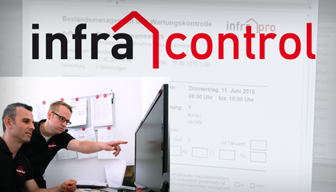 infra-control-Anfrage