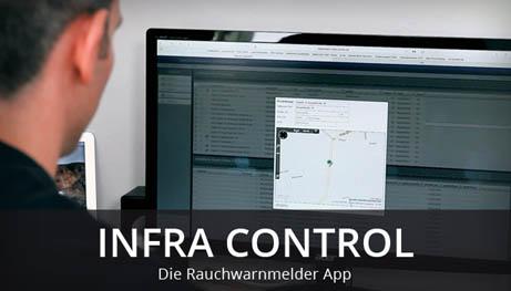 infra-control Rauchwarnmelder App