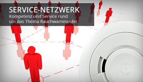 Service-Netzwerk: Kompetenz und Service rund um das Thema Rauchwarnmelder